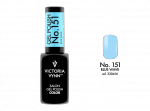 Victoria Vynn Gel Polish Color - Blue Wave No.151 8 ml