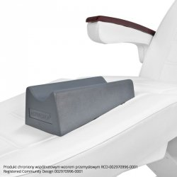 Podnóżek do pedicure na fotel - szary