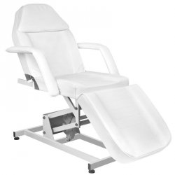Fotel kosmetyczny elektr. Azzurro 673A 1sil. - biały