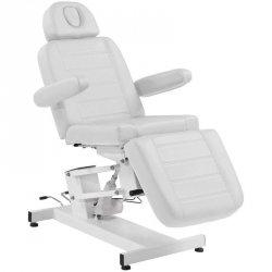 Fotel kosmetyczny elektr. Azzurro 705 1sil. - biały