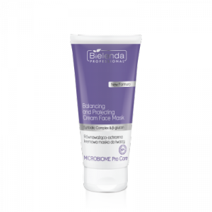 Bielenda Microbiome Pro Care Równoważąco-ochronna kremowa maska do twarzy  175ml