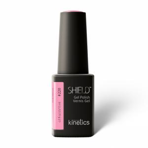 KINETICS - Lakier Hybrydowy 220 Shiled Pink Silence 15 ml