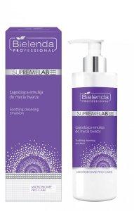 Bielenda SUPREMELAB Microbiome Pro Care Łagodząca emulsja do mycia twarzy, 175 g