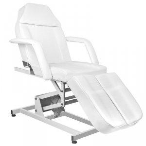Fotel kosmetyczny elektr. Azzurro 673AS Pedi 1sil. - biały