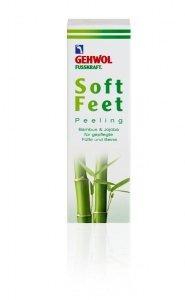 Gehwol Fusskraft Soft Feet Peeling Bambusowy do stóp - 125 ml