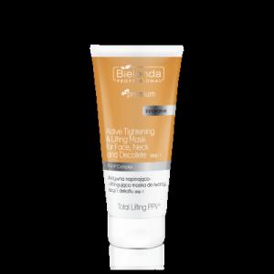 Bielenda - Total Lifting PPV+ Aktywna napinająco-liftingująca maska do twarzy, szyi i dekoltu STEP 1  175 g