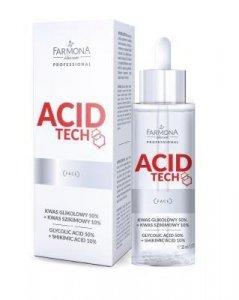Farmona Acid Tech- Kwas glikolowy 50%  + Szikimowy 10% 30 ml