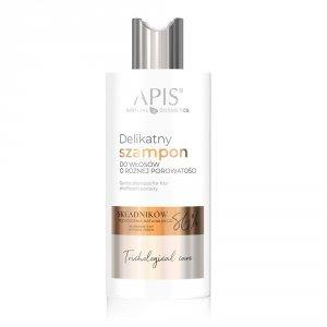 Apis Delikatny szampon do włosów o różnej porowatości, 300 ml