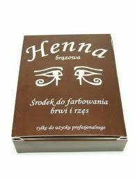 Henna Szczecińska - proszkowa - brązowa - 25 g