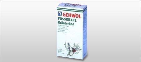 Gehwol Fusskraft Sól ziołowa do kąpieli stóp - 10 x 20 g