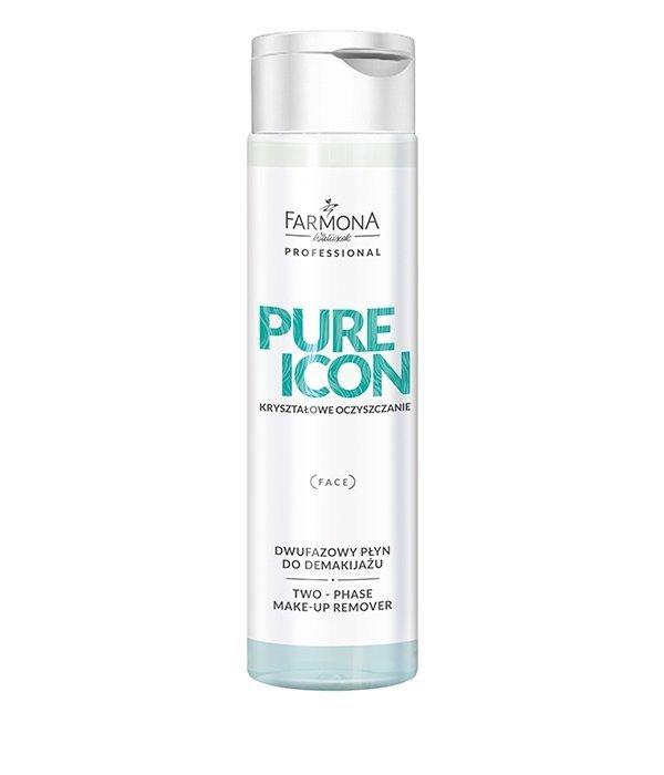Farmona Pure Icon - Dwufazowy płyn do demakijażu oczu i ust - 250 ml