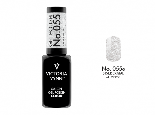 Victoria Vynn Gel Polish Color - Silver Cristal No.055 8 ml