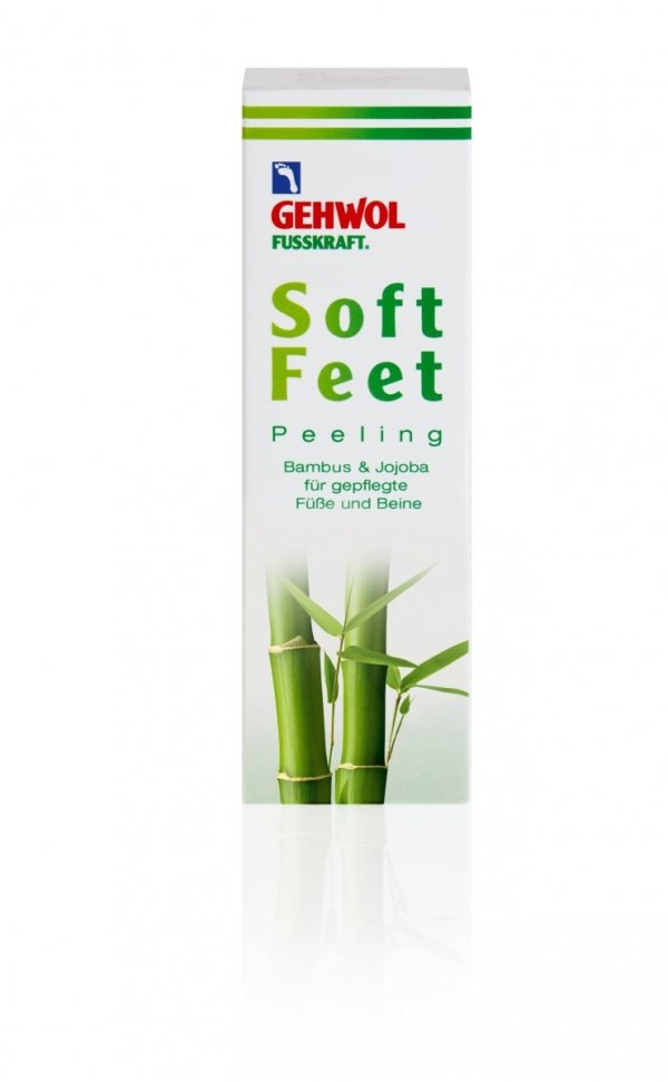 Gehwol Fusskraft Soft Feet Peeling Bambusowy do stóp - 125 ml