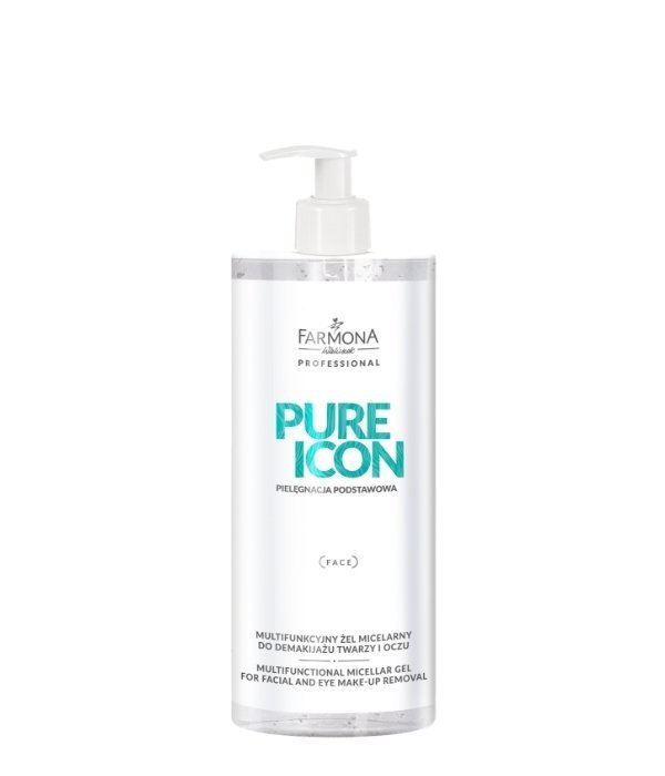 Farmona Pure Icon - Multifunkcyjny żel micelarny do demakijażu twarzy i oczu  500ml