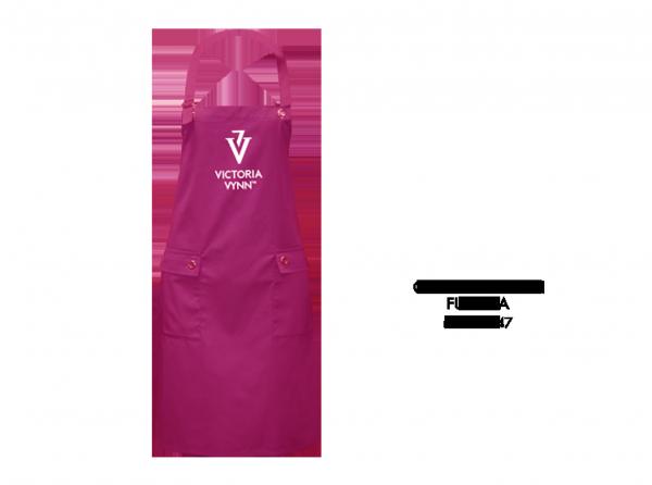Victoria Vynn - Cosmetic apron - Fartuch kosmetyczny - fuksja