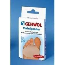 Gehwol - Żelowa poduszka przeciwuciskowa do przedstopia ( mała ) - 2 szt. 10 26 904