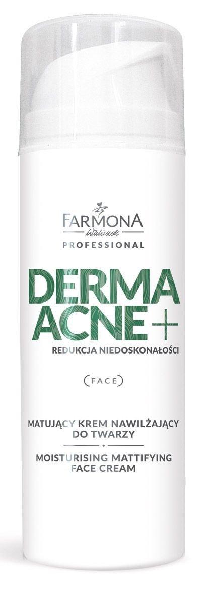 Farmona Dermaacne - Matujący krem nawilżający z kwasami AHA 150ml