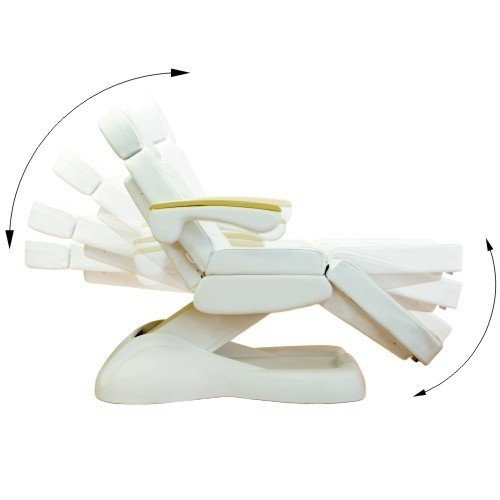 Fotel kosmetyczny - elektryczny - LUX 3M - czarny