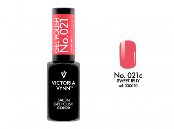 Victoria Vynn Gel Polish Color - Sweet Jeely No.021 8 ml