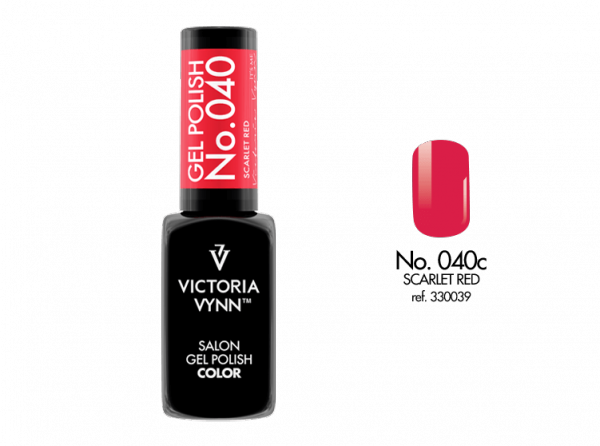 Victoria Vynn Gel Polish Color - Scarlet Red No.040 8 ml