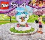 LEGO Friends magazyn Wydanie specjalne 2/2015 + Fontanna życzeń 30204 + prezent