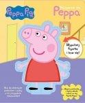 Świnka Peppa Nazywam się Peppa Lubię się uczyć (z figurką)