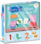Świnka Peppa Wśród przyjaciół Peppa liczy do 10! (30 puzzli)