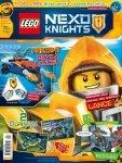 LEGO Nexo Knights magazyn 4/2017 + Bryka Lance'a + album na naklejki