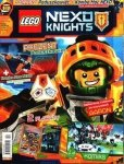 LEGO Nexo Knights magazyn 12/2017 + Poduszkowiec