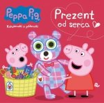 Świnka Peppa Książeczki z półeczki 66 Prezent od serca