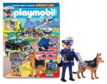 Playmobil magazyn 1/2016 + policjant i pies