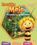 Pszczółka Maja Przygody wśród kwiatów 2 książka z naklejkami