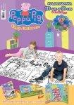Świnka Peppa Edycja limitowana 2/2016 KOLOROWANKA 139 x 98 cm + kredki-łezki Peppy