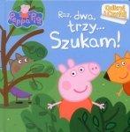 Świnka Peppa Odkryj i Czytaj Raz, dwa, trzy... Szukam!