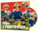Strażak Sam Filmowe opowieści 1 Ekipa z Pontypandy książka + DVD