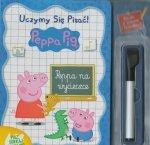 Świnka Peppa Uczymy się pisać! Peppa na wycieczce