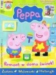 Świnka Peppa magazyn 09/2014 + GEORGE W ZBROI RYCERSKIEJ