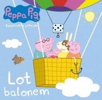 Świnka Peppa Książeczki z półeczki 65 Lot balonem