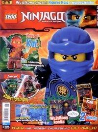 Lego Ninjago magazyn 9/2017 + KAI z wyposażeniem
