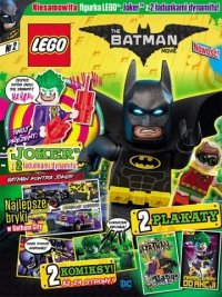 LEGO Batman Movie magazyn 2 + JOKER i 2 ładunki dynamitu