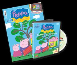 Świnka Peppa magazyn Wydanie specjalne z DVD Domek na drzewie (3/2013)