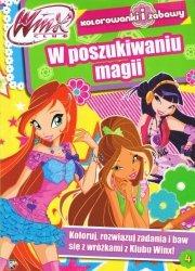 WinX Club Kolorowanki i zabawy 4 W poszukiwaniu magii