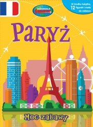 Paryż Moc zabawy + mata i 12 figurek