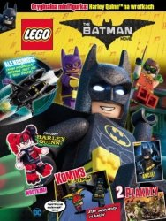 LEGO Batman Movie magazyn 4 + Harley Quinn na wrotkach