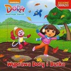 Dora poznaje świat Ruchome obrazki Wyprawa Dory i Butka