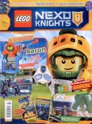 LEGO Nexo Knights magazyn 7/2017 + AARON + zestaw niespodzianka