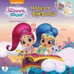 Shimmer i Shine Filmowe opowieści Magiczne życzenia (książka + DVD)