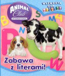 Animal Club Wyzwania dla malucha Zabawa z literami!