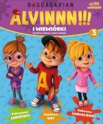 Alvin i wiewiórki 3 (z naklejkami)