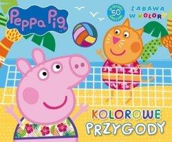 Świnka Peppa Zabawa w kolory 2 Kolorowe przygody